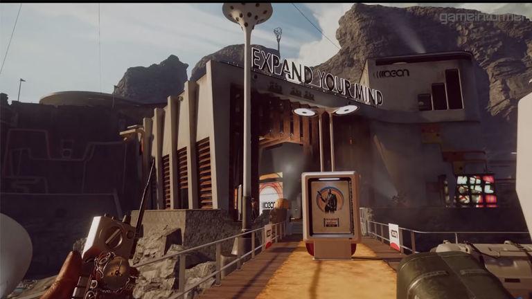 Deathloop gameplay video does not look bad