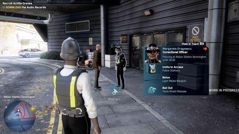 Watch Dogs Legion PC sürümünden oynanış videosu geldi