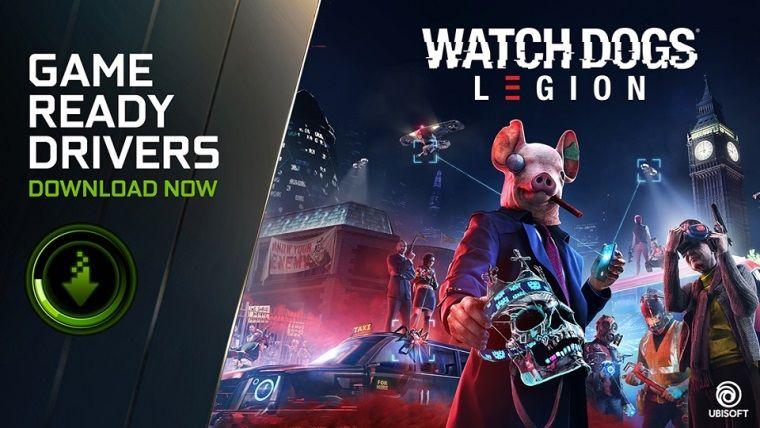 Watch Dogs Legion için NVidia sürücüleri yayınlandı