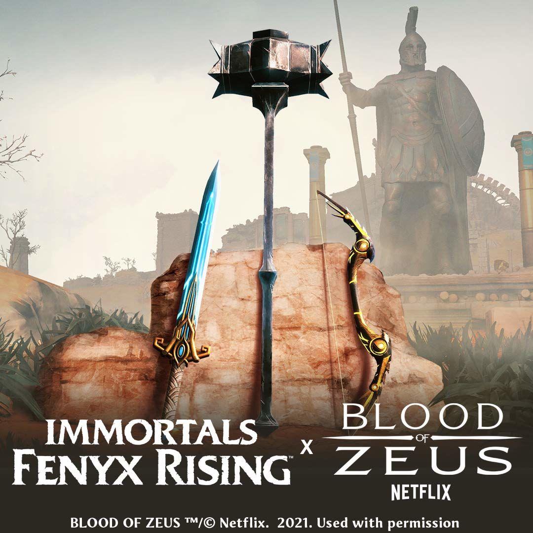 Immortals: Fenyx Rising ve Blood of Zeus etkinliği duyuruldu