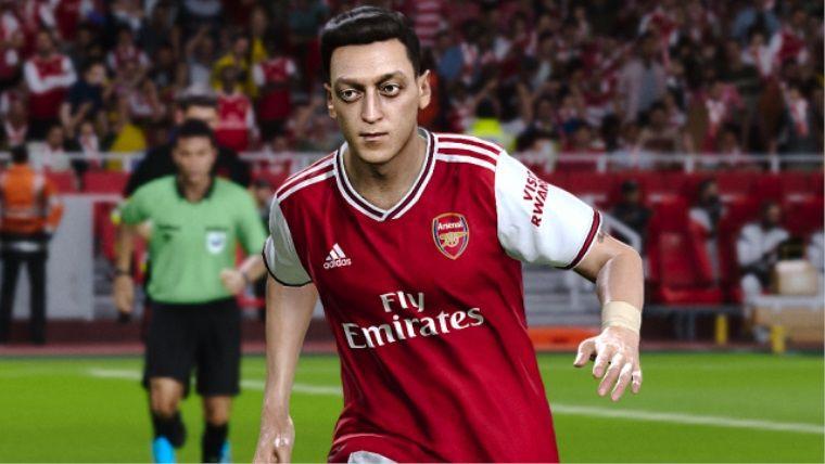 Mesut Özil Çin'de eFootball PES 2020'den kaldırıldı