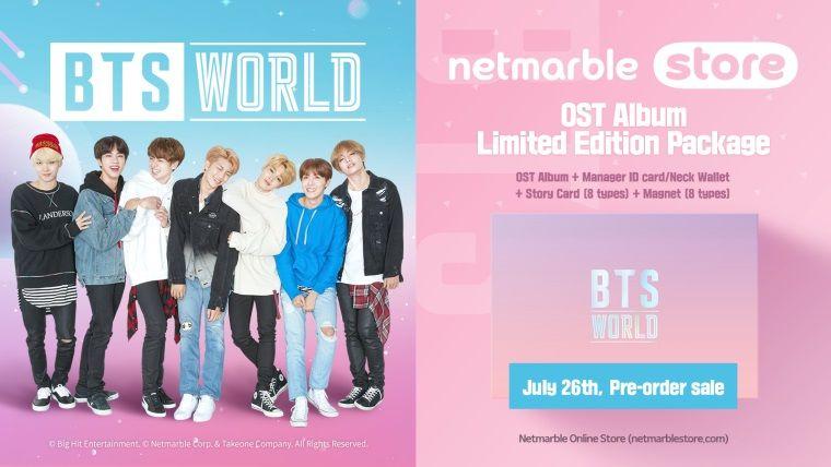 Sınırlı sayıda satılacak BTS WORLD albümü ön siparişe açıldı