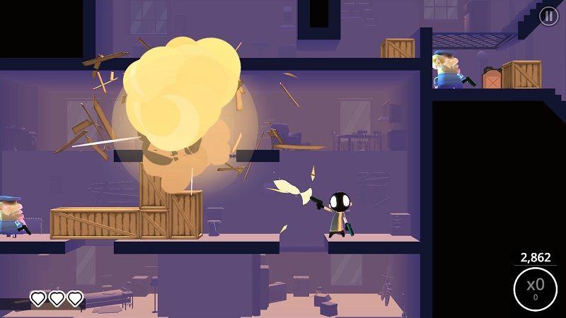 My Friend Pedro'nun ücretsiz mobil oyunu, an itibariyle çıktı