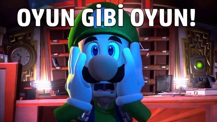 Luigi's Mansion 3'ü Oynadık!