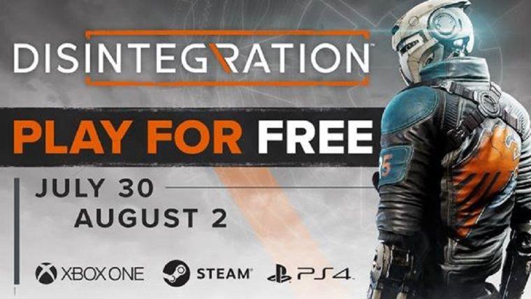 Disintegration tüm platformlarda bu hafta sonu ücretsiz olacak