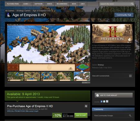 Age of Empires II HD açıklandı!