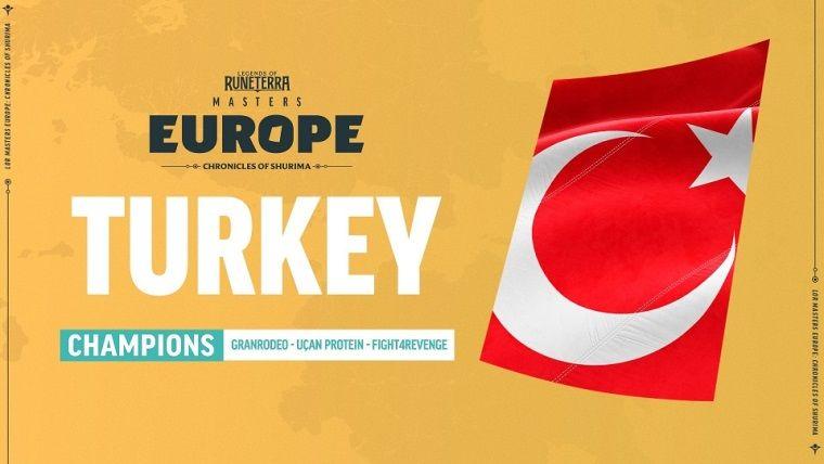 Legends of Runeterra Masters Avrupa şampiyonu Türkiye oldu
