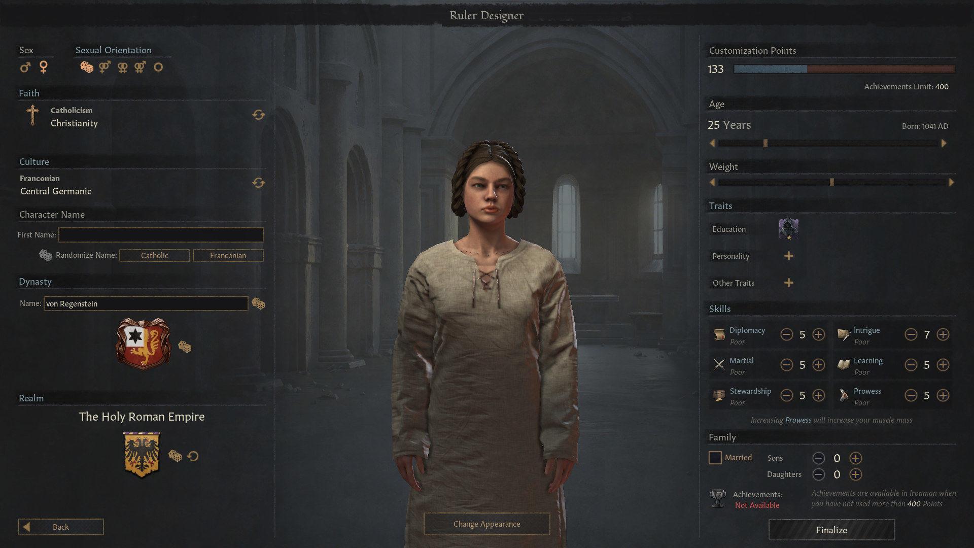 Crusader Kings 3 Ruler Designer güncellemesi çıktı