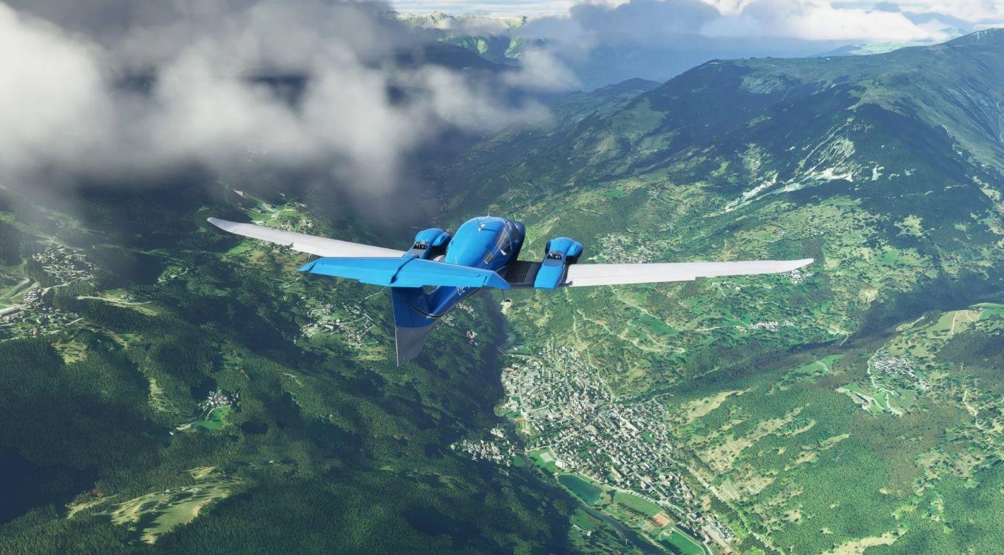 Microsoft Flight Simulator'ün nefes kesen yeni görselleri yayınlandı
