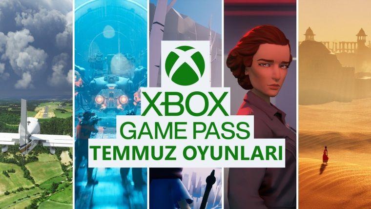 Xbox Game Pass temmuz içerikleri belli oldu