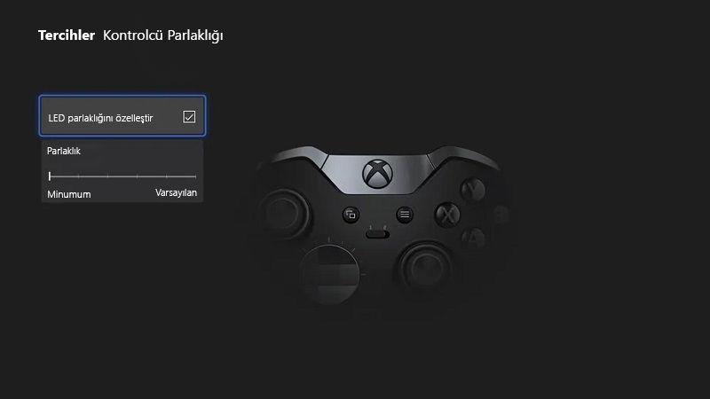 Xbox kontrolcüleri ve konsollara gece modu özelliği ekleniyor