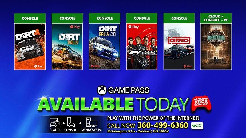 Xbox Game Pass'e altı yeni oyun eklendi