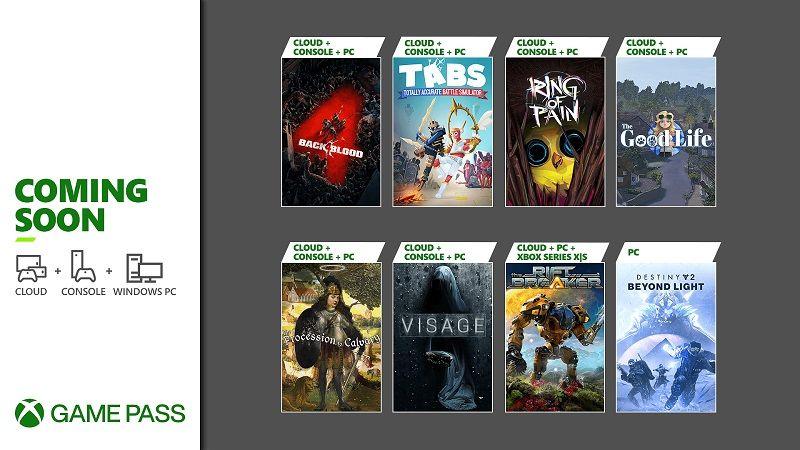 Back 4 Blood ve daha fazlası, Xbox Game Pass'e ekleniyor