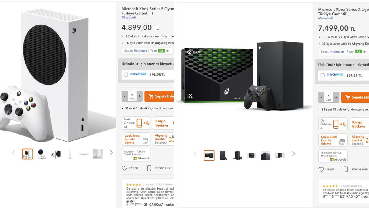 Xbox Series X / S konsollarının fiyatları düştü (Güncellendi)