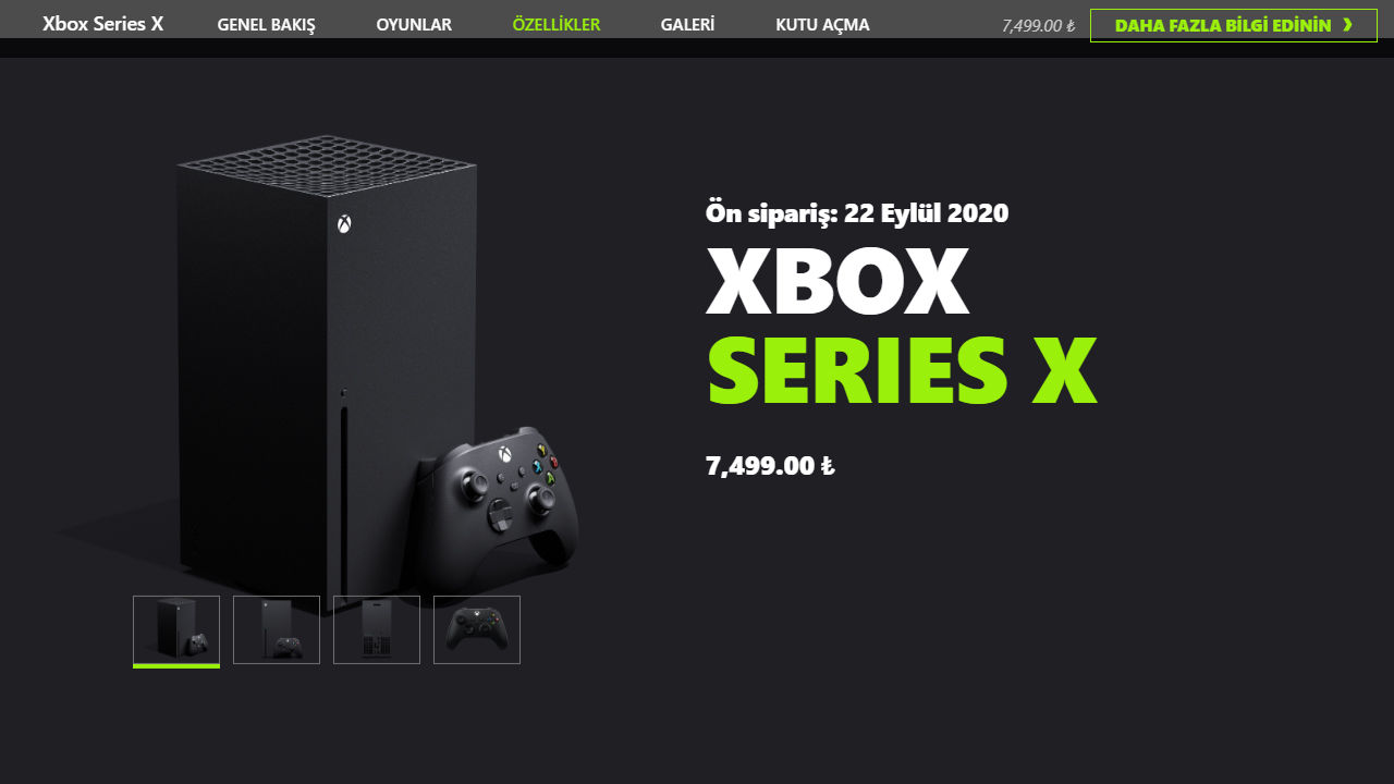 Xbox Series X Türkiye fiyatı açıklandı