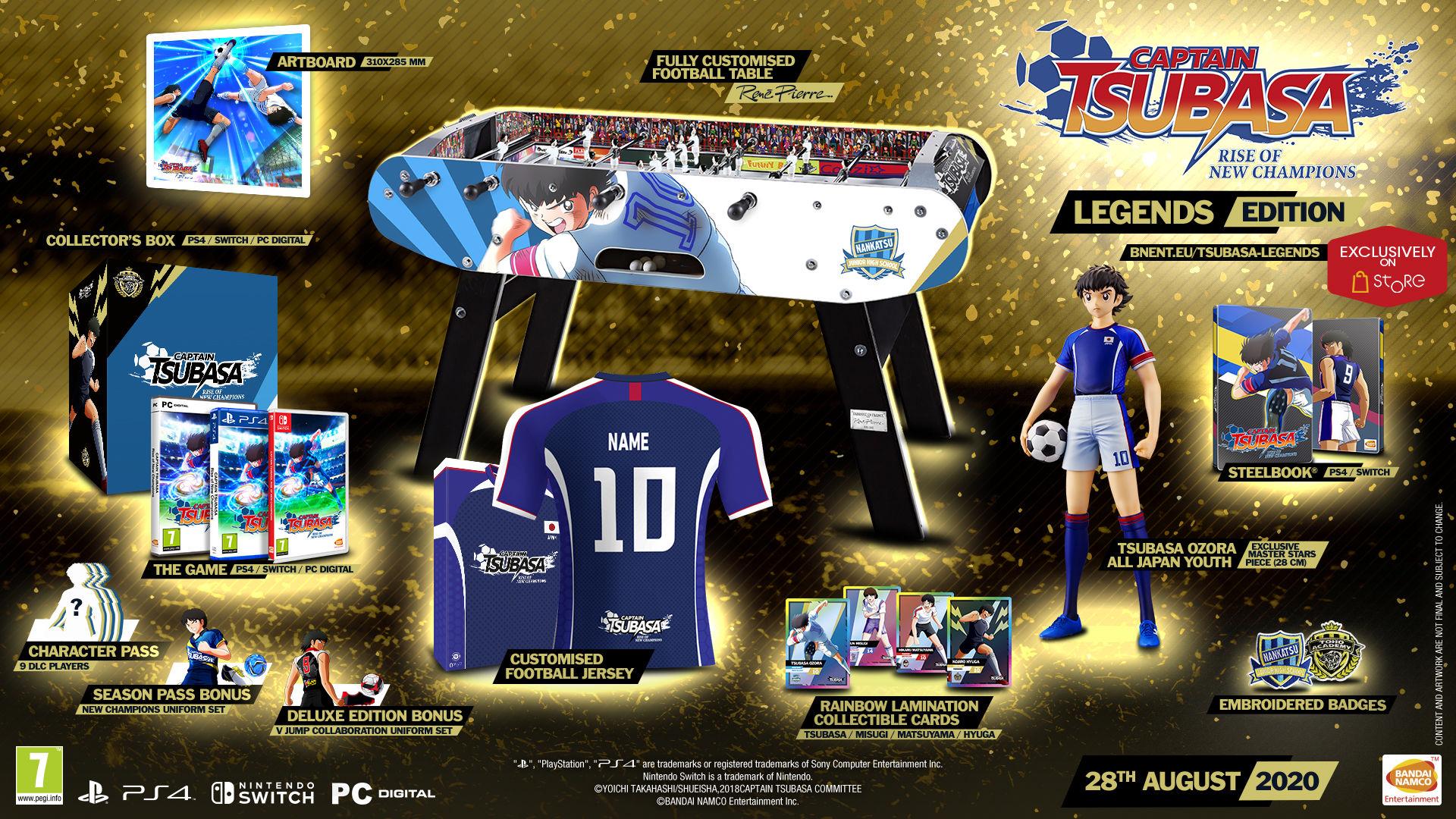 Captain Tsubasa: Rise of New Champions çıkış tarihi açıklandı