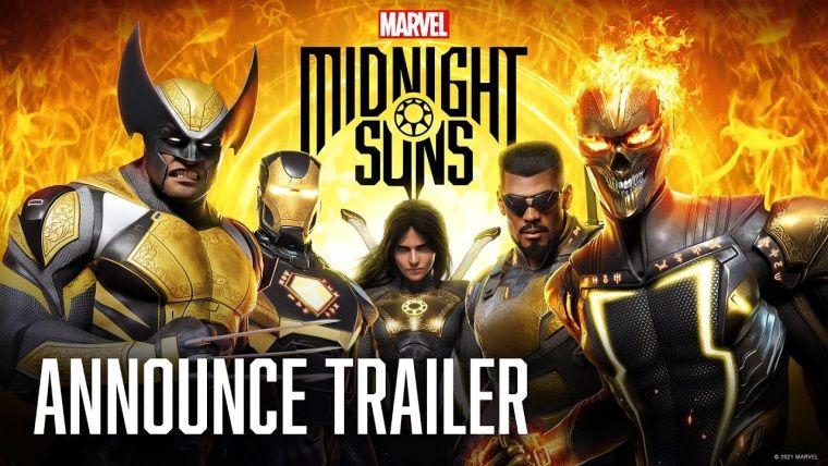 Yeni Marvel oyunu Midnight Suns duyuruldu