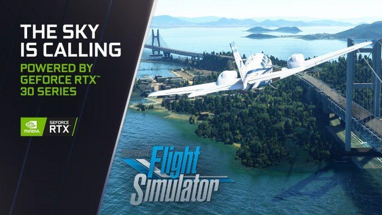 Microsoft Flight Simulator RTX 30 serisi güncellemesi