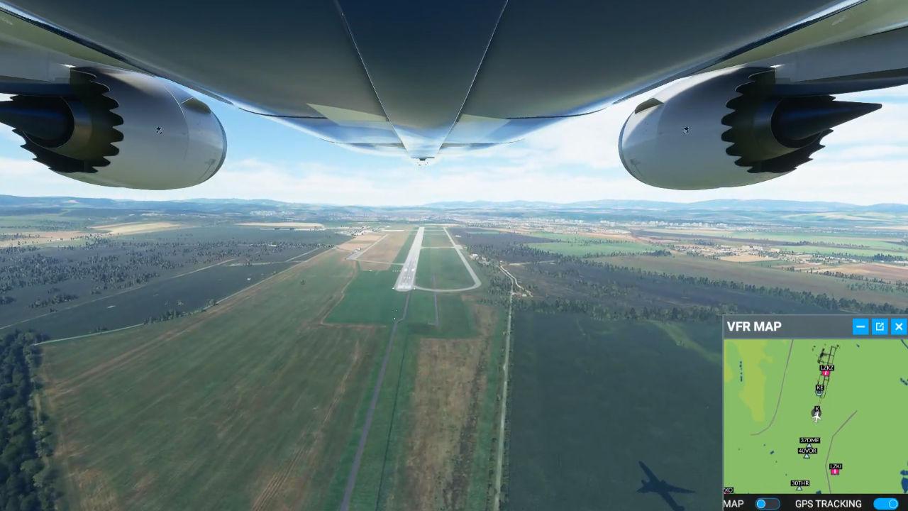 Twitch sohbet komutları ile Flight Simulator oynandı