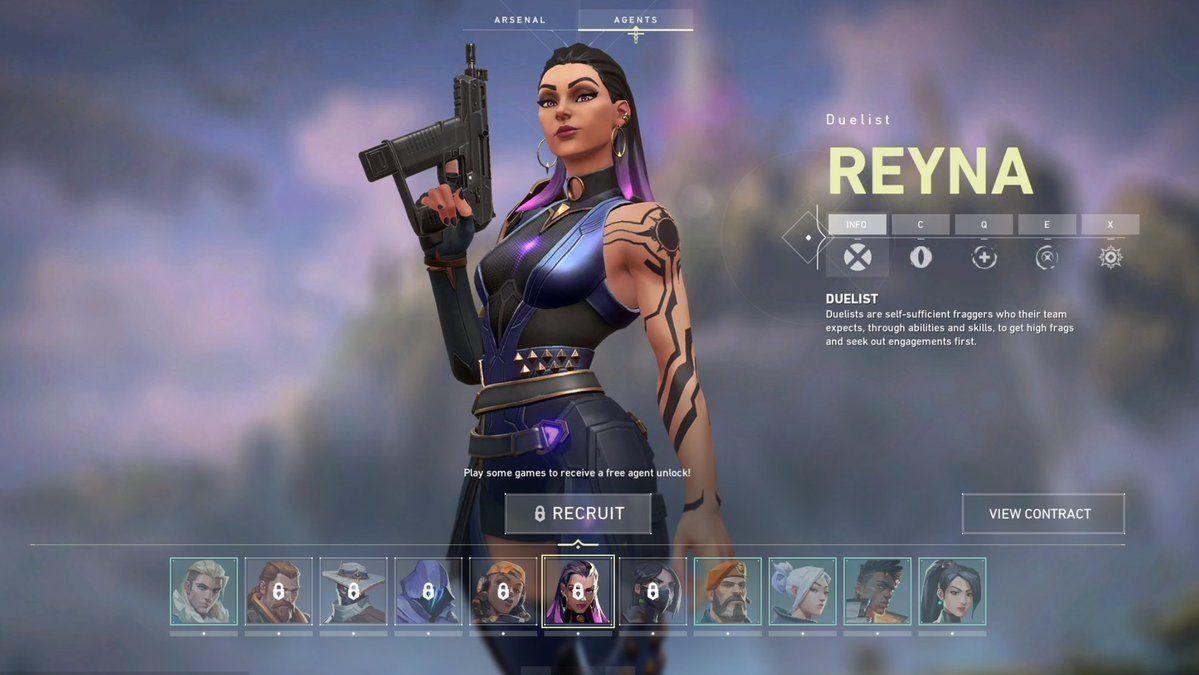 Yeni Valorant ajanı Reyna, hangi yeteneklere sahip?