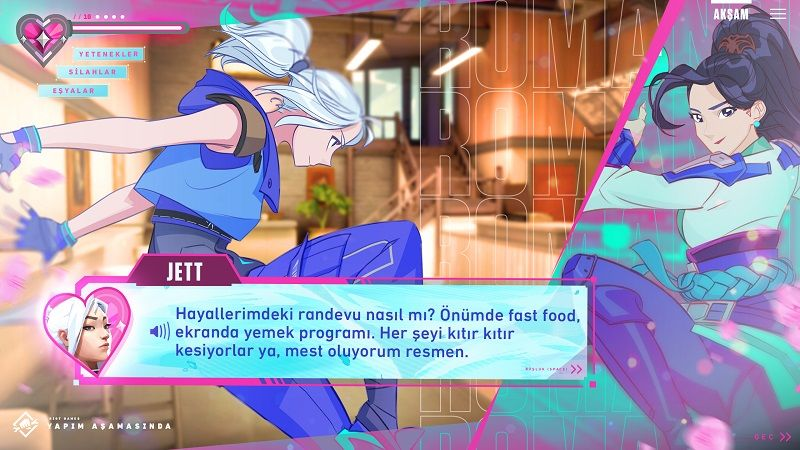 Romance dating simulator Valorant: Agents of the Heart announced