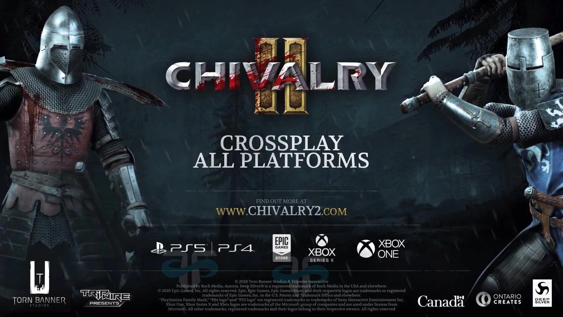 Chivalry 2 için kanlı bıçaklı konsol duyuru fragmanı yayınlandı