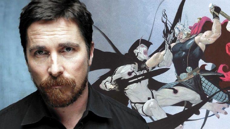 Thor: Love and Thunder filminden Christian Bale fotoğrafları geldi