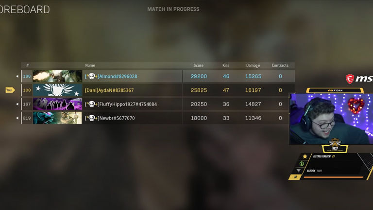 New record from the Call of Duty Warzone team