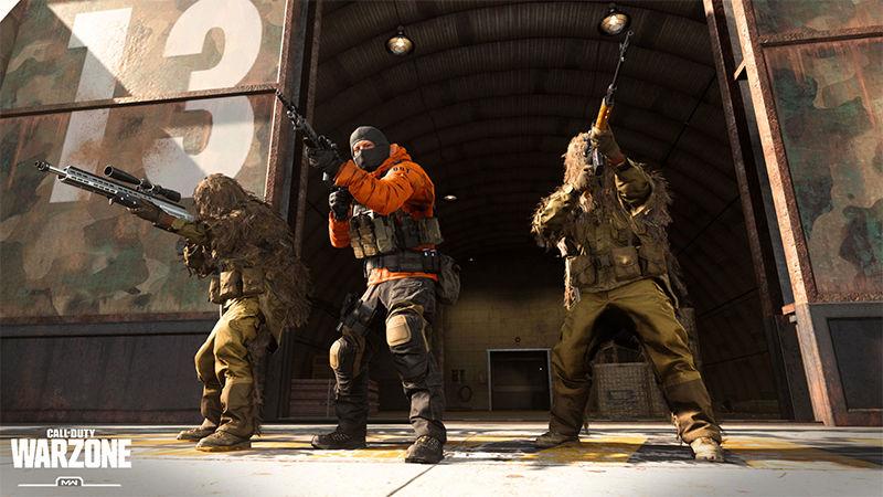 Call of Duty: Warzone, 200 kişilik oyunları destekleyecek