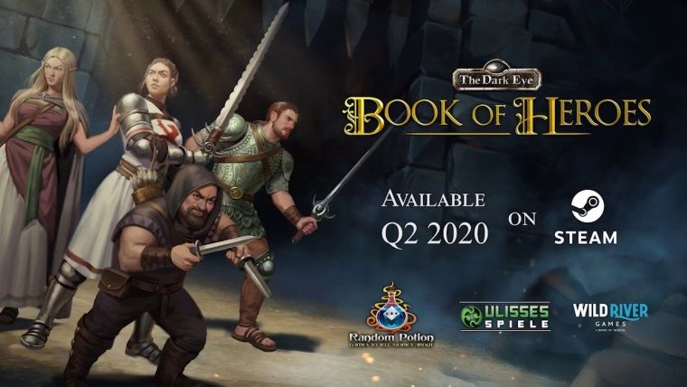 RPG oyun The Dark Eye: Book of Heroes bu yıl çıkacak