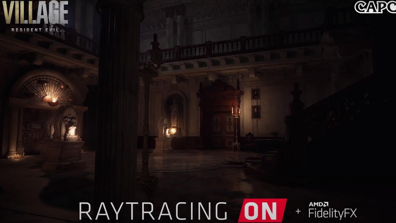 Resident Evil Village ışın izleme yalnızca AMD kartlarda olacak