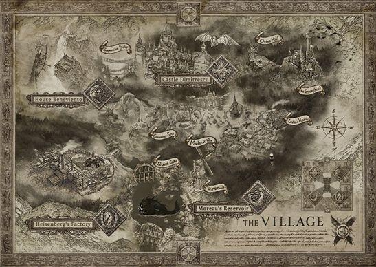 Resident Evil Village haritası ortaya çıktı