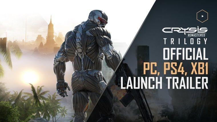 Crysis Remastered Trilogy çıkış videosu yayınlandı