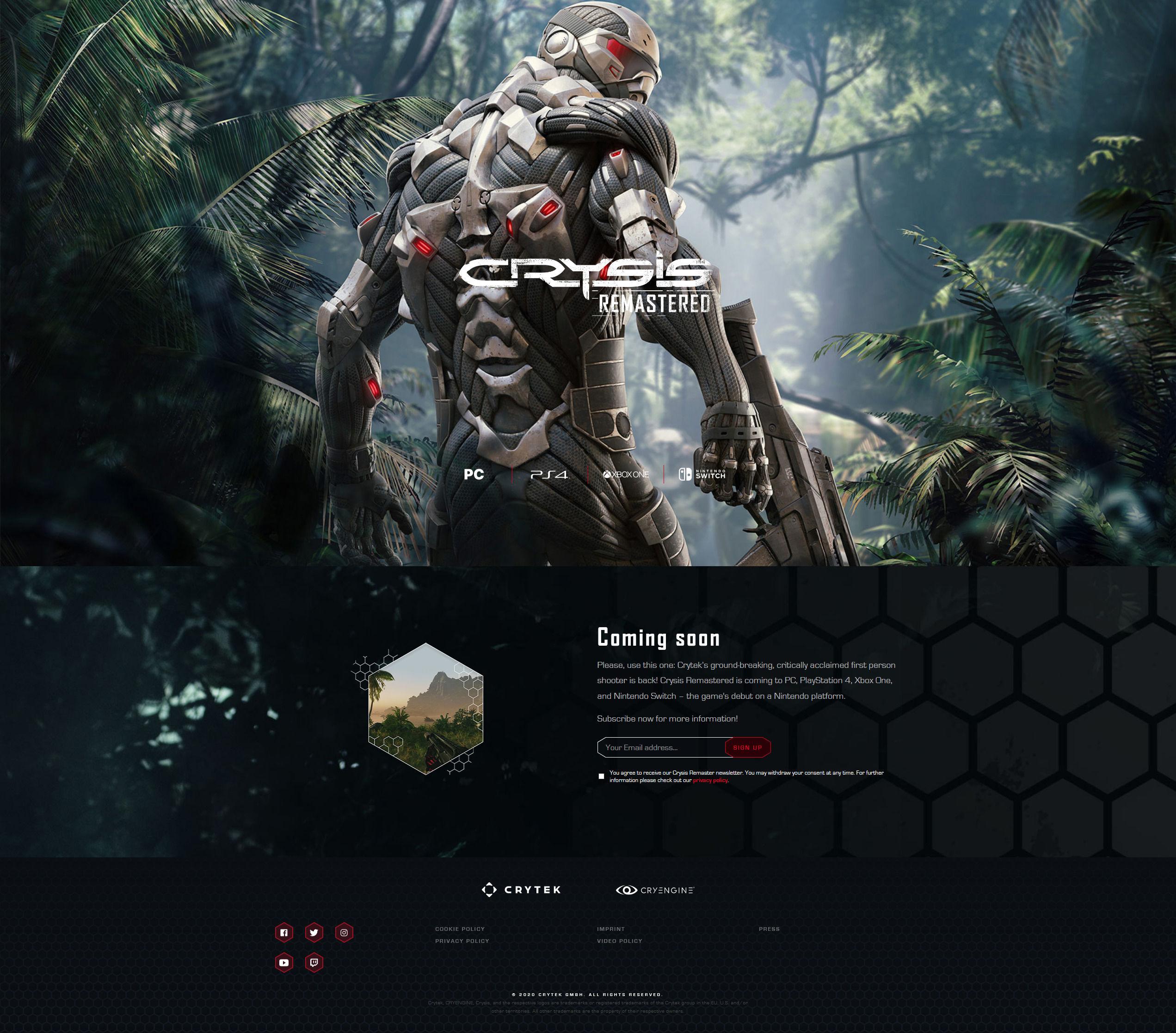 Crysis Remastered sızdırıldı! İlk detaylar
