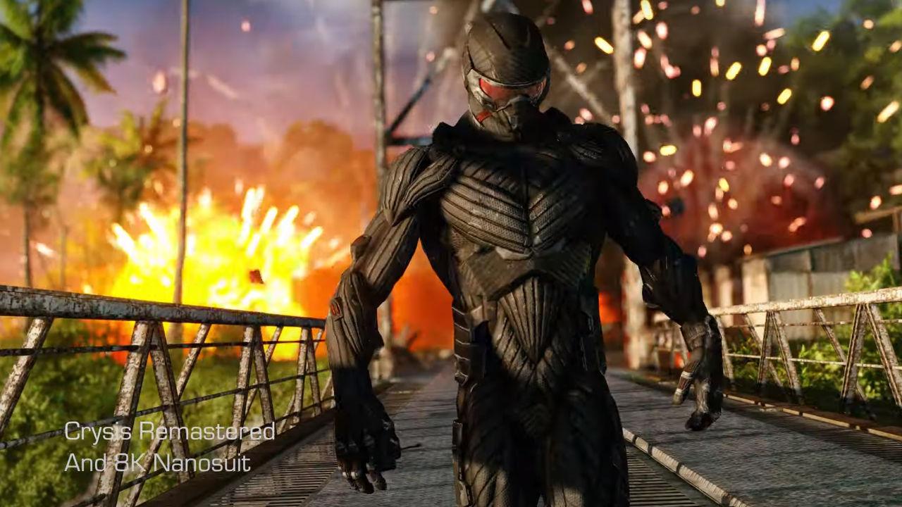 Crysis Remastered 8K videosu enfes görünüyor