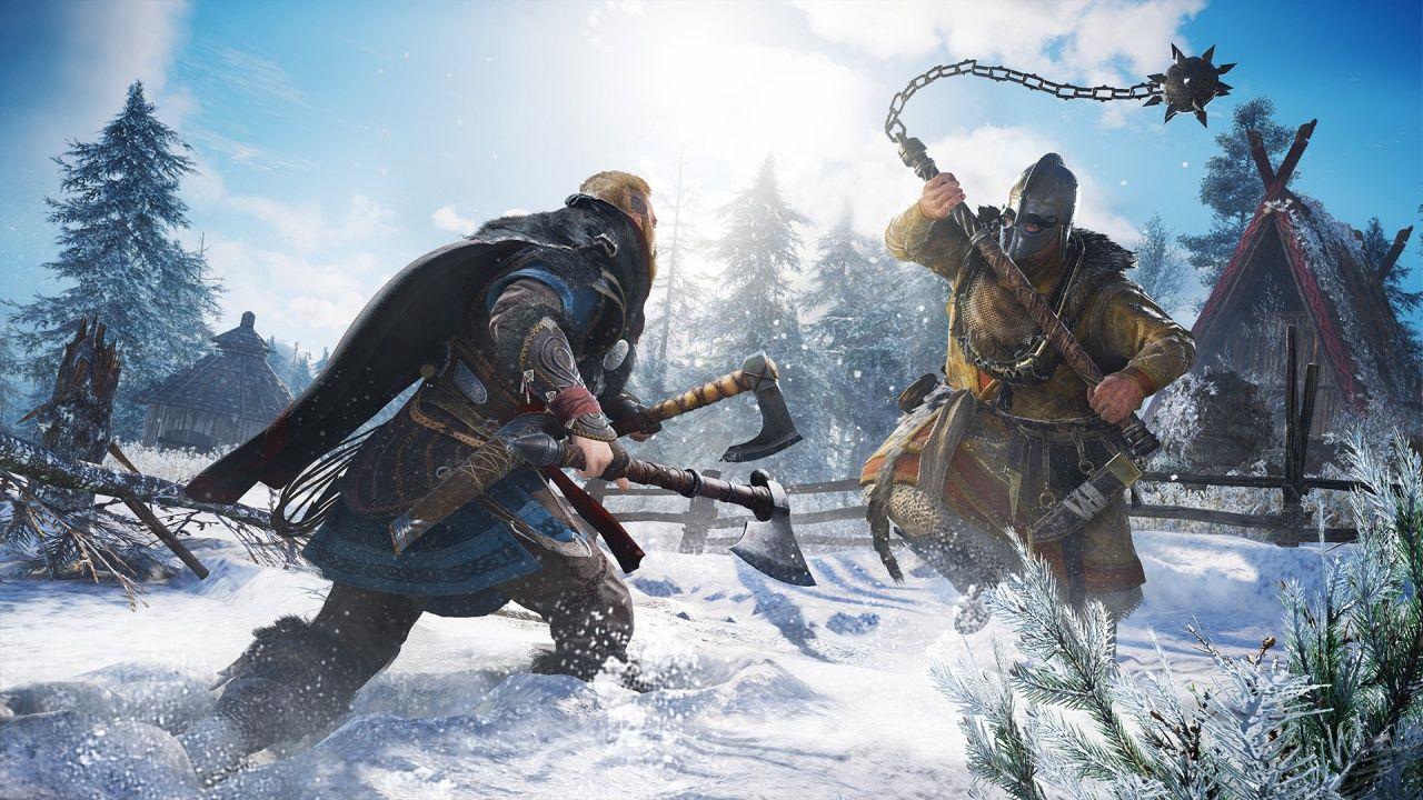 Assassin's Creed Valhalla grafik karşılaştırma videosu