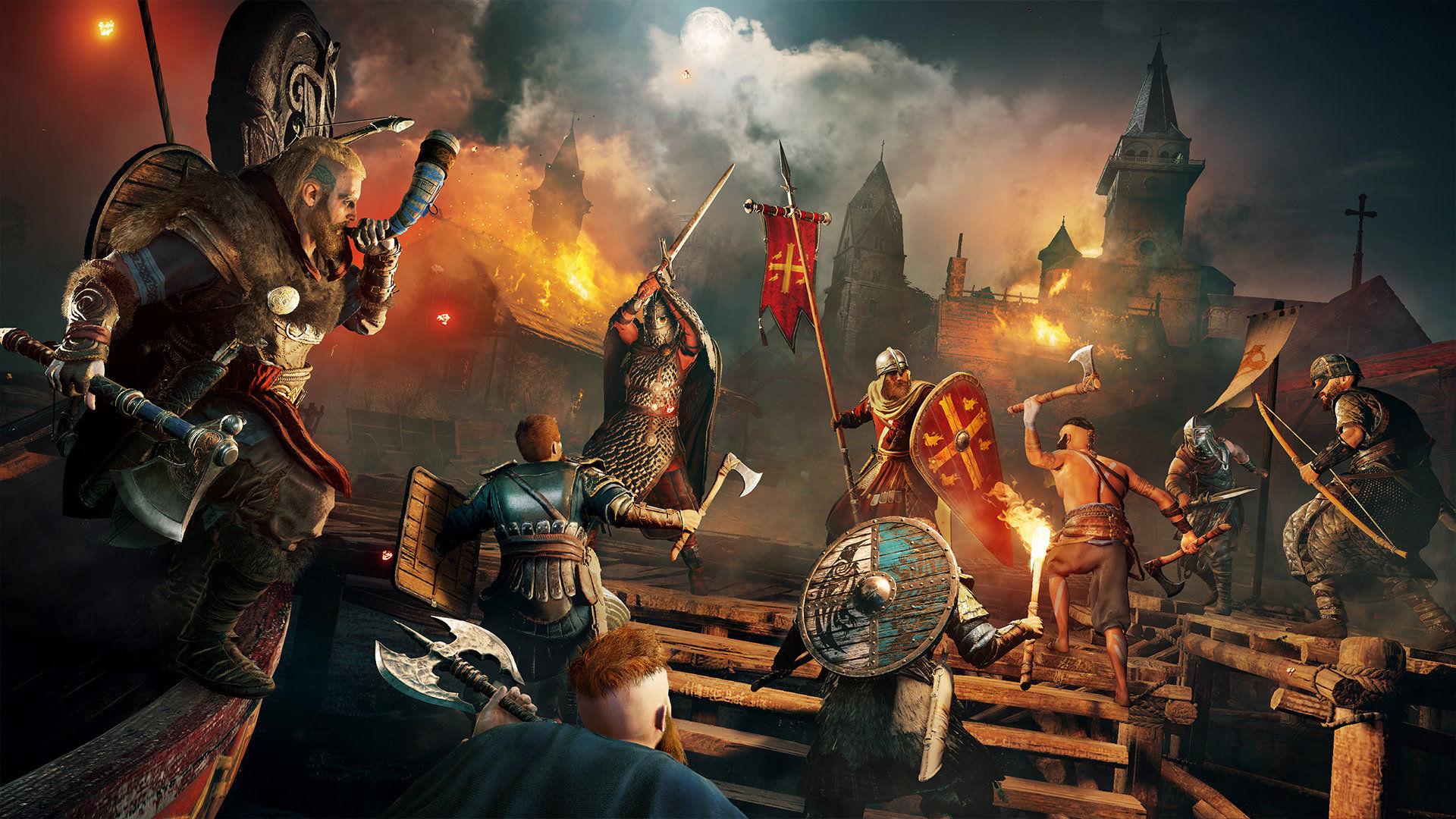 Assassin's Creed Valhalla, serinin en iyi çıkış yapan oyunu oldu
