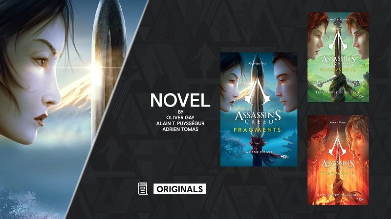 New books and content announced for Assassin's Creed series