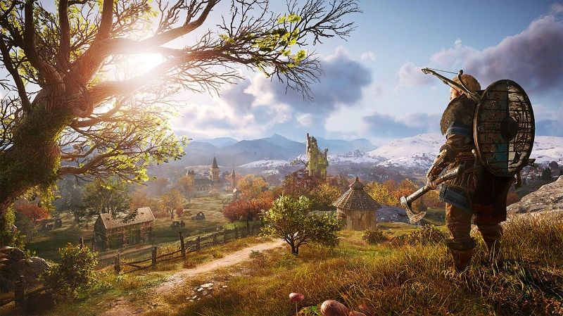 Assassin's Creed Valhalla level scaling güncellemesi alıyor