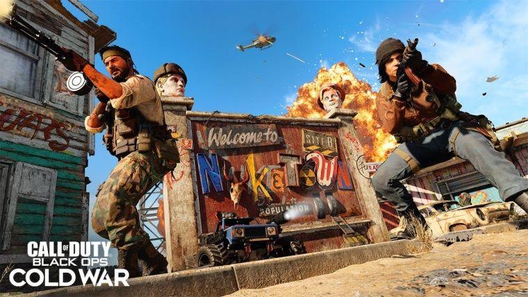 Bedava Call Of Duty: Black Ops Cold War Nuketown Weapons DLC'si Çıktı
