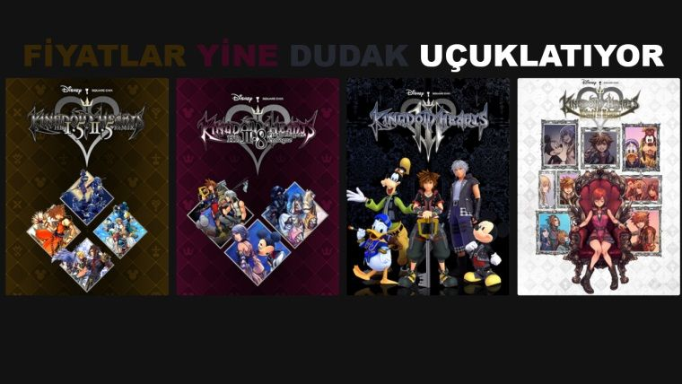 Kingdom Hearts serisi Epic'e özel olarak PC'ye geliyor