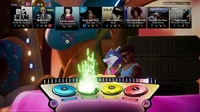 Müzik Oyunu Fuser Şarkı Listesi