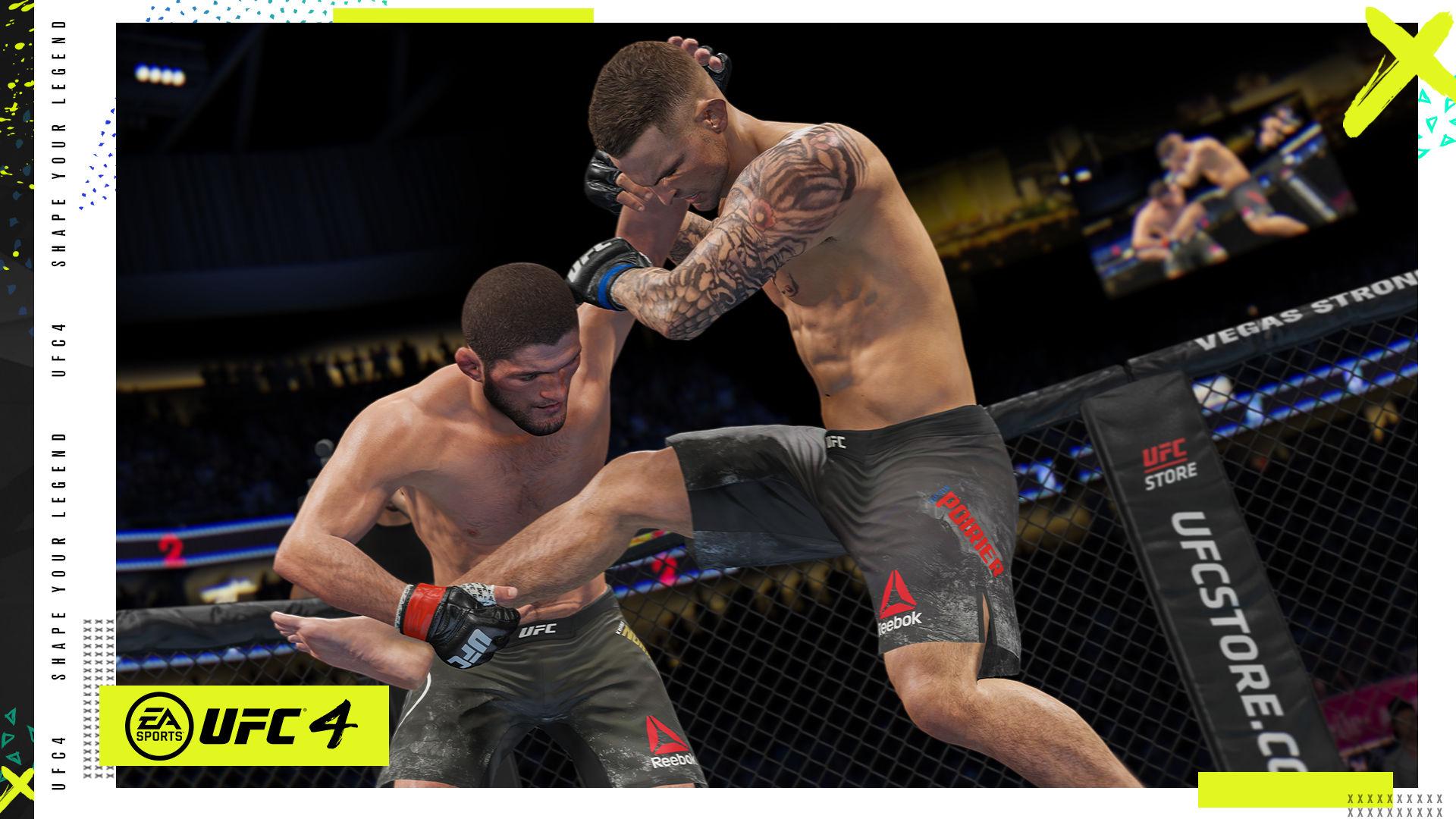 UFC 4 PlayStation 4 ve Xbox One için duyuruldu