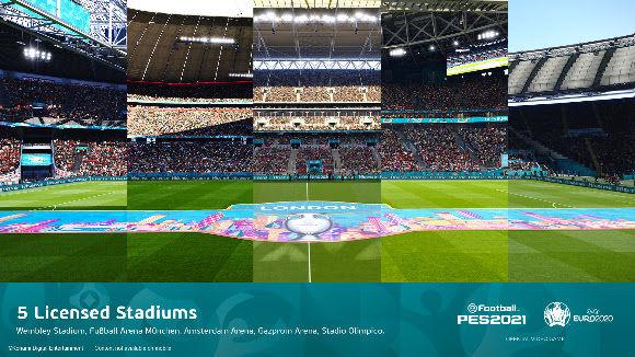 PES 2021'e Avrupa Kupası içerikleri eklendi
