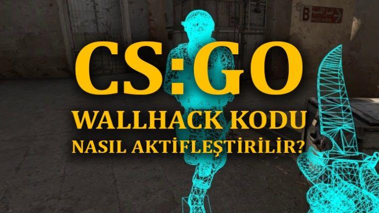 CSGO Wall hack kodu ve işinize yarayacak 6 hile
