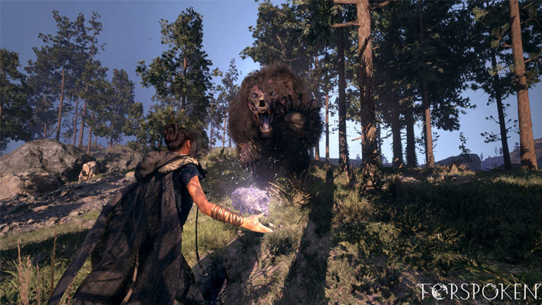 New images from the Forspoken game