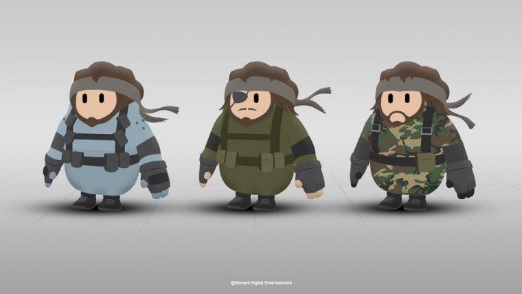 Konami, Fall Guys için Solid Snake kostümü istiyor