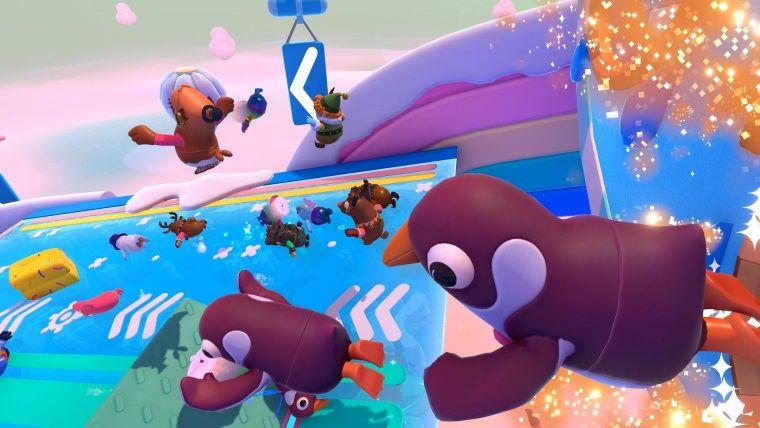 Fall Guys'a Squid Game içerikleri geliyor olabilir
