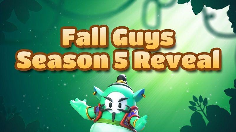 Fall Guys 5. sezonu Orman Macerası teması ile geliyor