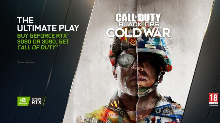 RTX 3080 veya 3090 alanlara Call of Duty: Black Ops Cold War hediye